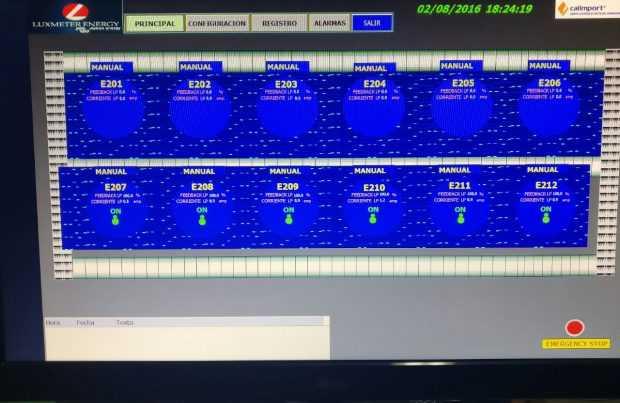 Sistema automatizado de fotoperiodo de Luxmeter