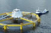 Proyecto de salmonicultura offshore entre la noruega SalMar y Rolls Royce (Imagen de contexto)
