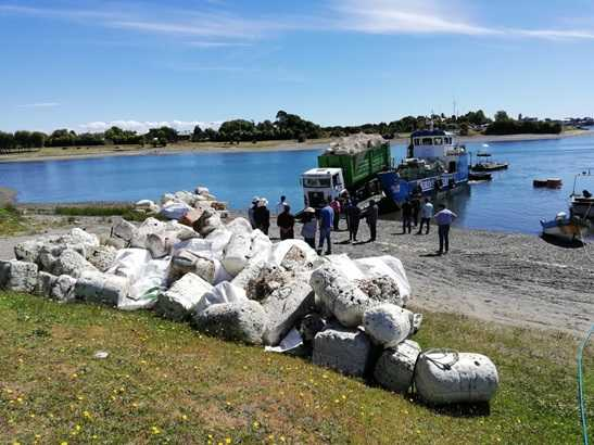 Desde las playas y el mar se extrajeron residuos.