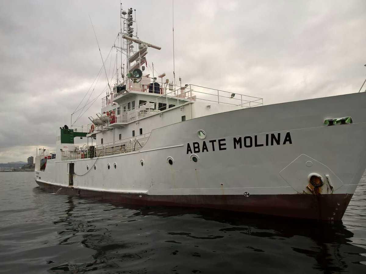 """Buque científico """"Abate Molina"""" (Foto: IFOP)"""