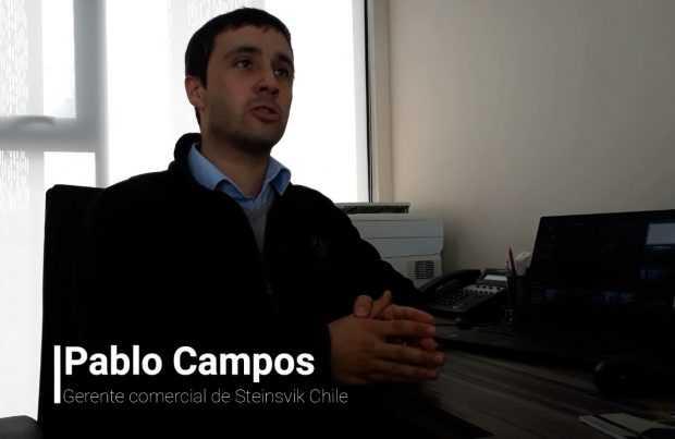 Pablo Campos, gerente comercial de Steinsvik Chile