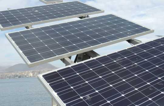 Google construirá una planta solar asociada a la acuicultura (foto referencial)