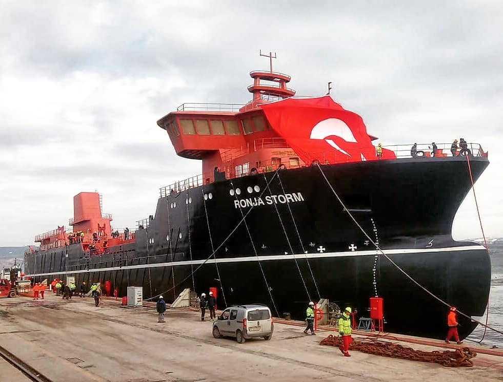 "Wellboat ""Ronja Storm"" (Foto: Cemre Shipyard)"