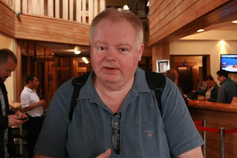 Arne Geirulv, director de Russian Aquaculture (créditos: Christian Pérez)
