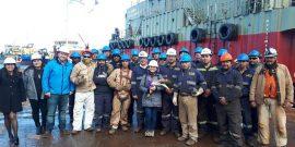 AquaChile inauguró pontón en la región de Magallanes