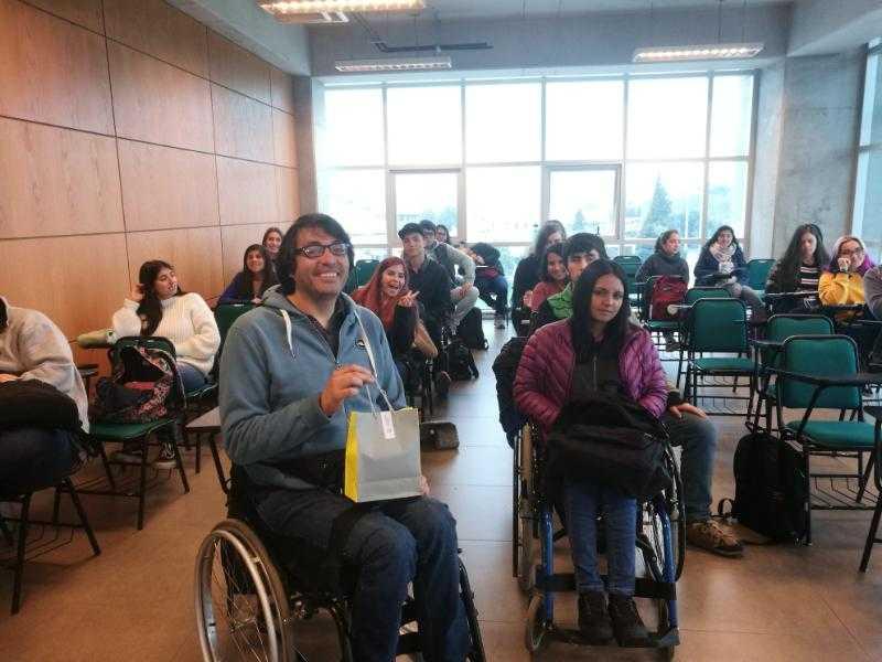 Charla motivacional e inclusiva dio inicio a año académico en la UCSC