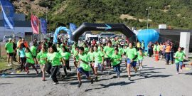 Más de 200 personas participaron en corrida familiar de Camanchaca Cultivos Sur (Archivo)