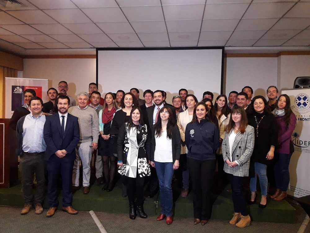Gremio y empresas salmonicultoras participaron en capacitación sobre derechos indígenas