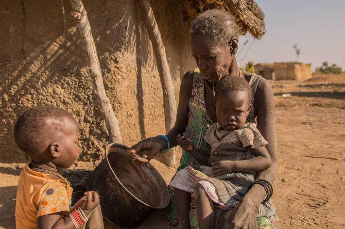 El hambre aguda sigue afectando a más de 100 millones de personas (foto FAO)