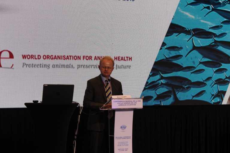 En conferencia mundial de la OIE: Advierten riesgos para la acuicultura