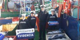 Armada entrega más antecedentes de histórica incautación de salmones en Puerto Montt