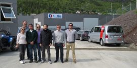 Previo al Lofoten-Seminar: Salmonicultores chilenos visitan centros en Noruega