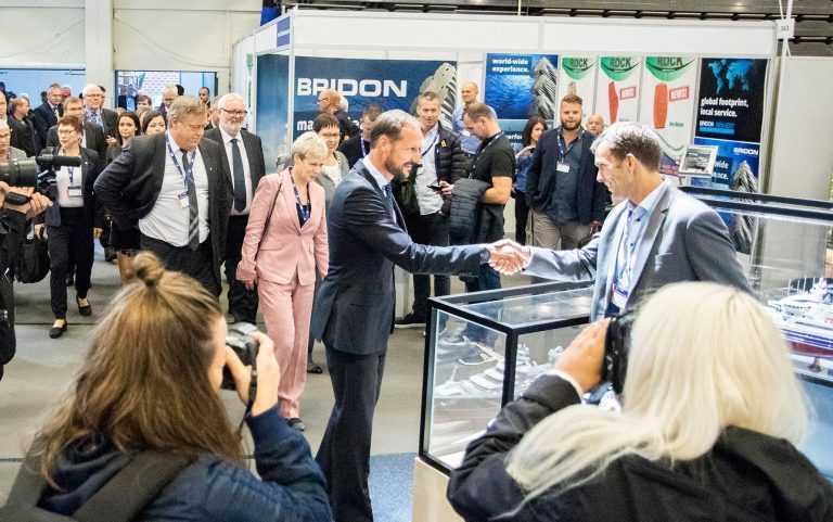 Confirman la presencia del príncipe de Noruega en AquaNor 20191