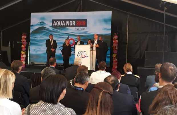 Día de inauguración de Aqua Nor 2019
