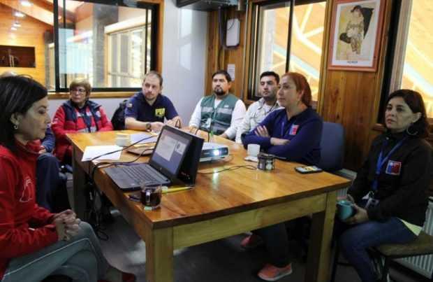 Instrucción en Talcahuano (foto: gentileza SNA)
