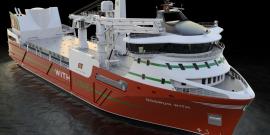Confirman la construcción de barco que transportará alimento para salmones y también carga general
