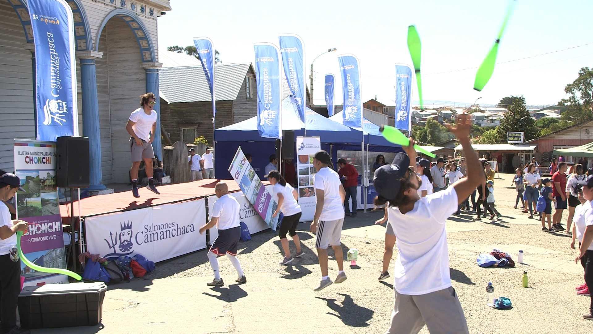 Vuelta a Chiloé_Más de 300 personas disfrutaron de las actividades de Camanchaca2