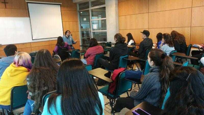 Charla motivacional e inclusiva dio inicio a año académico en la UCSC1