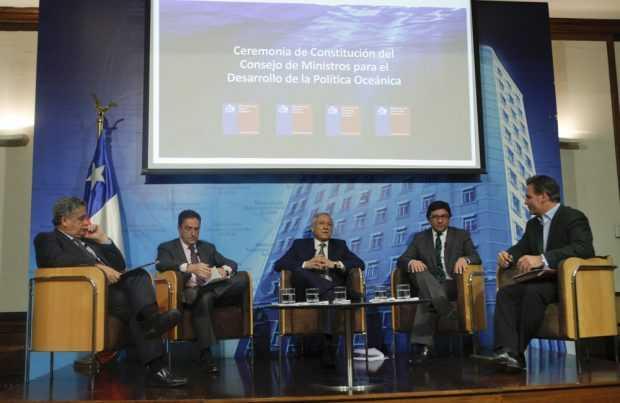 Consejo de Ministros para el Desarrollo de la Política Oceánica (Foto: Juan Carlos Recabal)