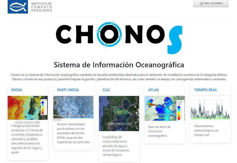 Monitoreo oceanográfico_Modernizan la página web de CHONOS1