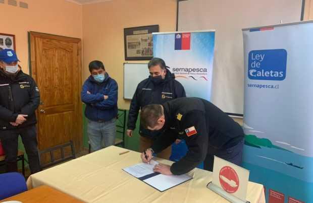 En Puerto Montt: Armada entrega nueva destinación marítima a Sernapesca