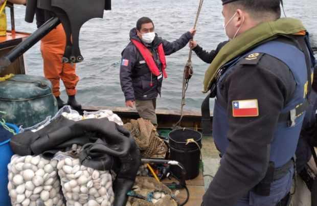 La Armada informa sobre incautaciones en Corral y Queilen