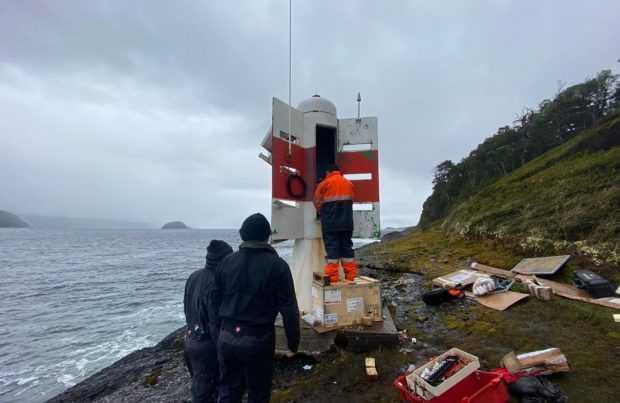 Directemar: Centro Zonal de Puerto Montt finalizó la instalación de equipos que aumenta la eficiencia de la señalización marítima