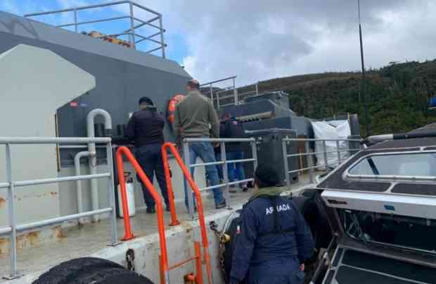 Fiscalizan centro de cultivo de salmones en Magallanes