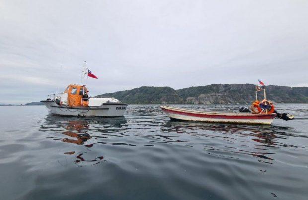 Recuperan embarcaciones robadas en Dalcahue