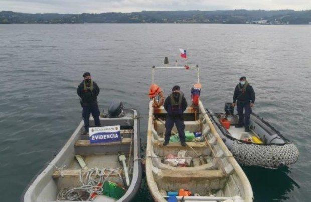 Recuperan embarcaciones robadas en Dalcahue2