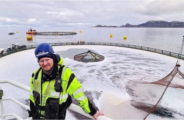 Noruega: Vuelven a sembrar salmones en el proyecto Atlantis (foto AKVA)