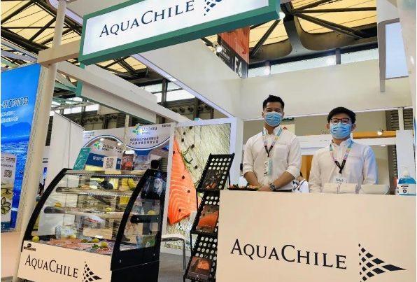 AquaChile participó en exposición de alimentos en China (foto AquaChile)