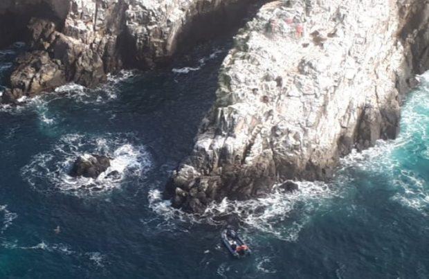 Encuentran a seis pescadores desaparecidos en Coquimbo (foto: Armada de Chile)