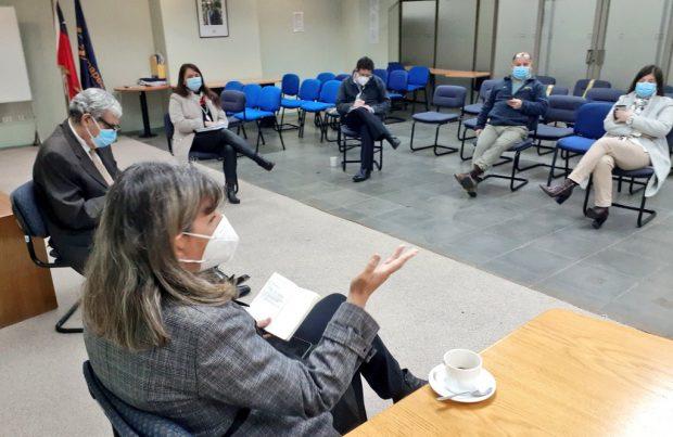 Subsecretaria Alicia Gallardo se reunió con el nuevo director nacional de Sernapesca