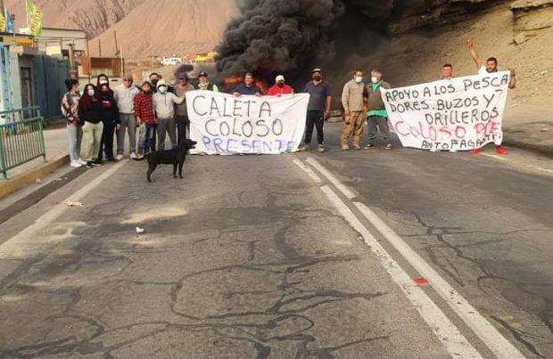 Caleta Coloso, región de Antofagasta